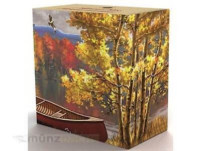 20 $ Dollar Autumn Bliss Herbstimpression Kanada 2013 1 Unze oz Silber PP 2