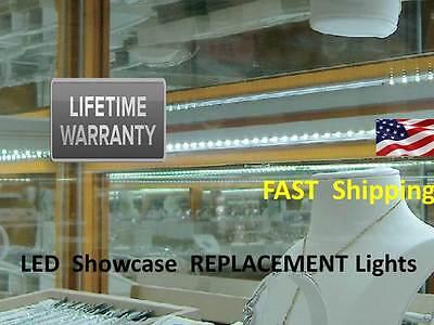 DIAMOND enhancing LED light kits - Jewelry Showcase / Display Case Lights