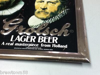 Grolsch Premium Lager beer sign vintage TOC tin tacker bar signs 1 import YM5 6