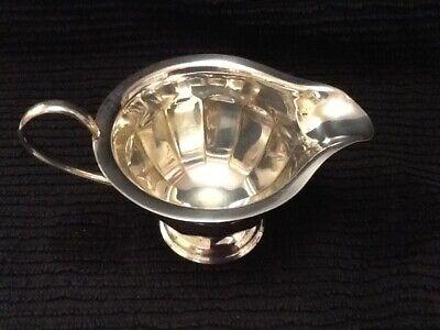 Pretty 12 Sided Silver Plate Cream Jug. Sheffield. 4