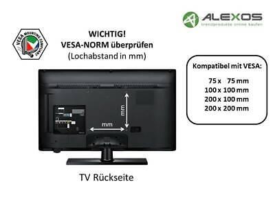 TV Fernseher Wandhalterung A63 Halter für TCL 32 Zoll 32DS520 /& 32DD420 Neigbar