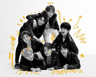 BTS [MAP Of THE SOUL:7] Album RANDOM CD+POSTER+Foto Buch+Lyric+Buch+2p Karte+etc 6