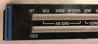 77-81 Firebird A//C-Heater Control Cable Trans Am Air Conditioning Heat AC Temp