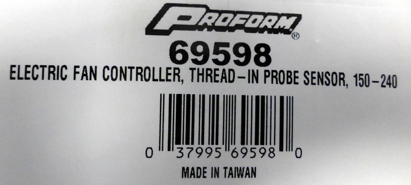 Proform 69598 Electric Fan Controller
