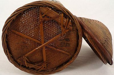Ein seltener,antiker Hochzeits-und Geschenkekorb,Thailand 19.Jhdt.Wedding Basket