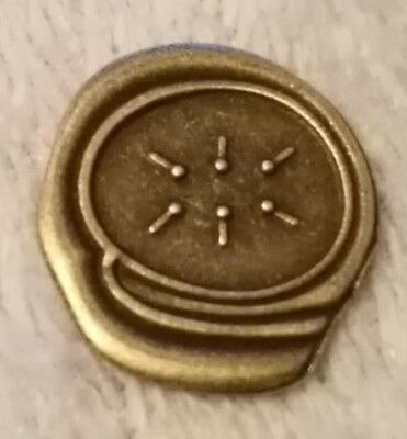 UNKNOWN Coin Unusual Strange Words & Symbols Mystery Token Markings Unresearched 2
