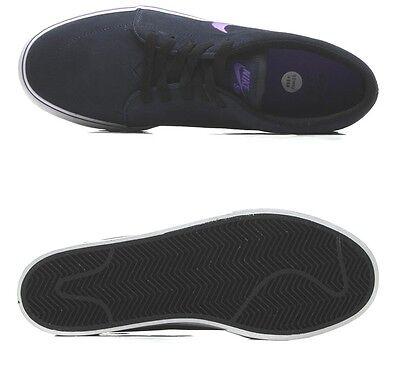6e111deec99 ... Nike Satire Sb Skateboard Suede Low Men Shoes Black 536404-451 Size  10.5 New 3