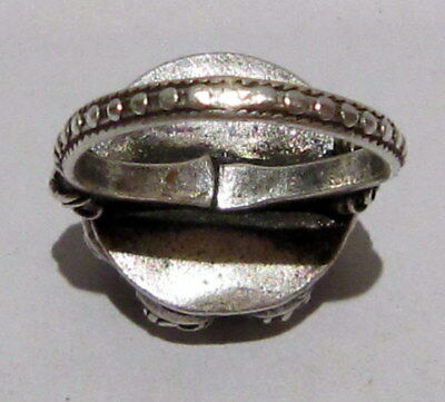 Amazing Post-Medieval Silver Ring With Beautiful Filigree  # 395 5