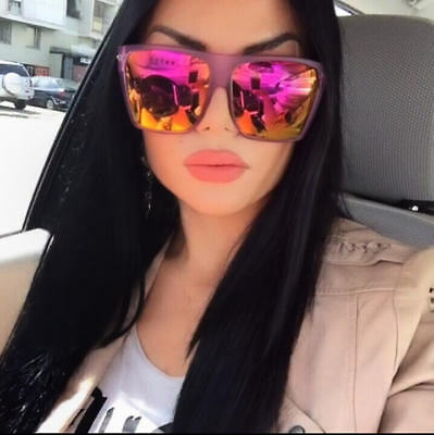 "Women Sunglasses XXL OVERSIZED ""Lauren"" Aviator Flat Top Square Shadz GAFAS"