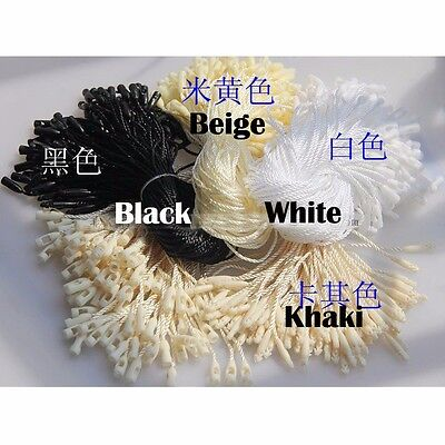 100 X Price Tag Label Tie Strings Cord Rope Thread Retail Jewelry Display 19cm 3