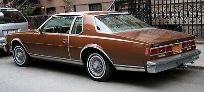 Set 1986-1990 Chevy Chevrolet Caprice//Impala Rear Bumper Quarter Panel Fillers