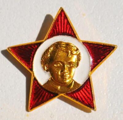 4pcs. RUSSIAN SOVIET USSR PIONEER VLKSM PIN MEDAL ORDER RED STAR AWARD BADGE WAR 11
