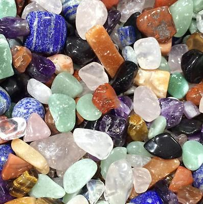 50G Crafters Rock Collection Mix Quartz Crystal Natural Mineral Specimens Decor