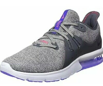 NIKE AIR MAX Sequent 3 Grey 921694 013 Athletic Running