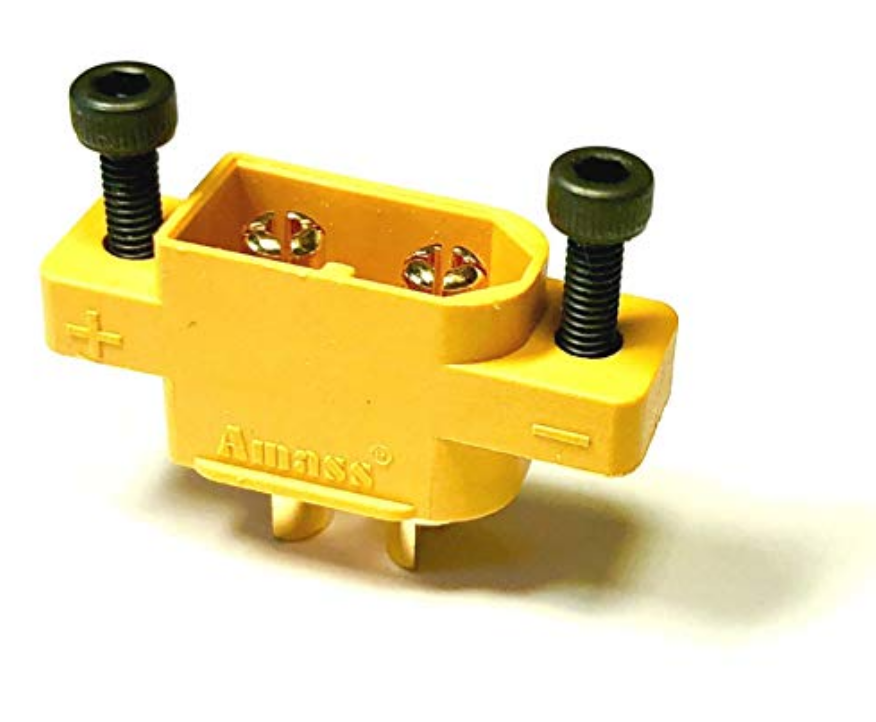 Premium XT60E XT60 XT60E-M Einbaustecker Goldstecker Stecker Buchse + Schrauben 2