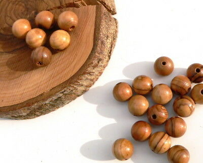 120 ~ TOP QUALITY Olive Wood 6mm Round Beads Polished Rosary Jewelry Bethlehem