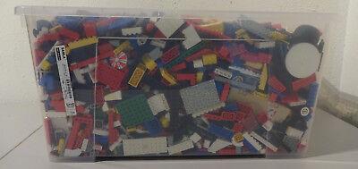 1 Kg  LEGO KILOWARE STEINE PLATTEN RÄDER SONDERSTEINE GEMISCHT GEBRAUCHT KILO 3