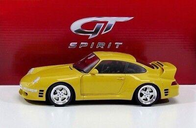 RUF Porsche CTR2 Sport 1997 gelb Modellauto 1:18 GT Spirit