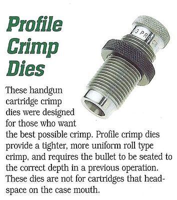 86191 REDDING 45 Colt / 454 Casull Profile Crimp Die - Brand New - Free Ship
