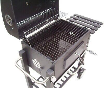 56511 Bbq Barbecue Grill Griglia Carbone Carbonella Ripiano Affumicatore 12