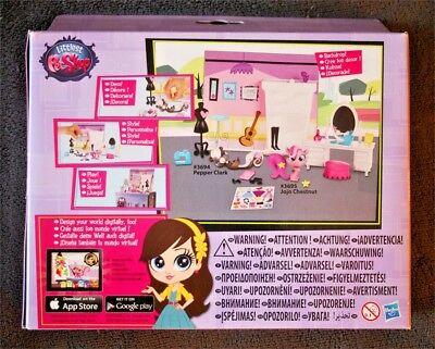 Littlest Pet Shop: Glamour Pack (Pepper Clark 3694 & Jojo Chestnut 3695). New!