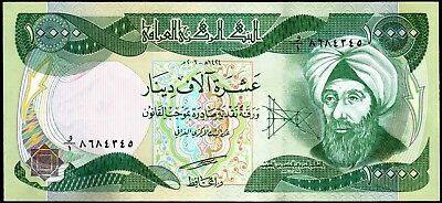 QUARTER MILLION IRAQI DINAR - (25) 10,000 IQD Notes - AUTHENTIC - FAST DELIVERY 2