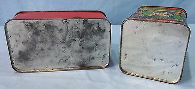 Vintage Advertising Tins Lithograph Epicure Fruit Cake And Barton's Almond Kiss 7
