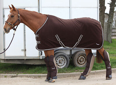 Rhinegold Elite Luxury Horse Fleece Rug Show Travel Cooler All