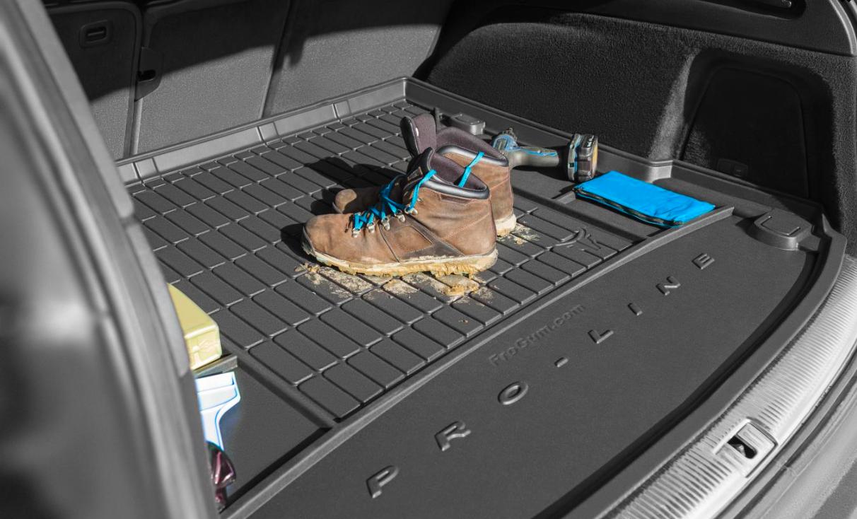 Premium Gummi Kofferraumwanne mit Organizer für Citroen C3 3 III ab 2016