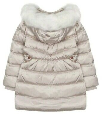 Baker by Ted BakerGirls' Ivory Padded Shower Resistant Coat Age 12 Years 4
