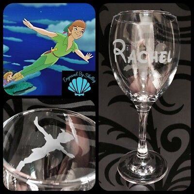 Personalised Disney Woody Toy Story Wine Glass Handmade Free Name Engraving Dad