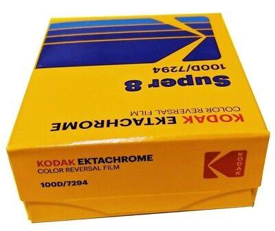 Kodak Ektachrome Super 8 100D Color Reversal Film / 7294 *Brand New!* Fresh 2