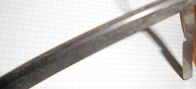 dachbodenfund rasiermesser alt schwarz 2/0 42 stempel unleserl. top vintage deko 10