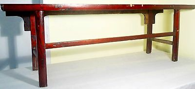Antique Chinese Ming Scholar Daybed/Bench (2633), Circa 1800-1849 6