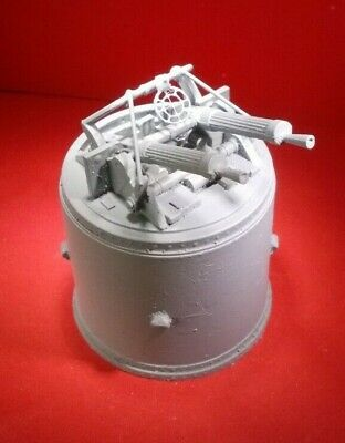Twin Vickers .303 Machine Gun 1//24th Scale Model Boat Fittings.