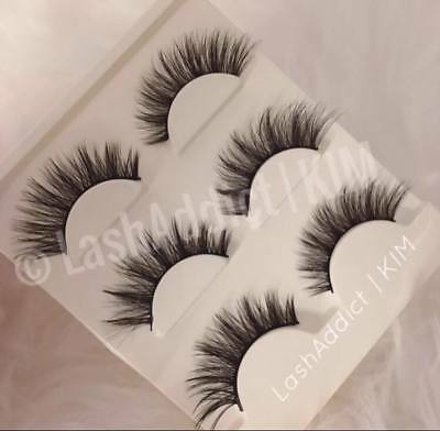 da733273e1c ... GORG 3 Pairs MINK Lashes Eyelashes 3d Fur Makeup Extensions | US SELLER New  3