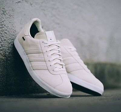 save off 0b9c0 48220 ... NIB Adidas Consortium x Saint Alfred Gazelle GTX Sneakers Ivory Off  White BB0894 3