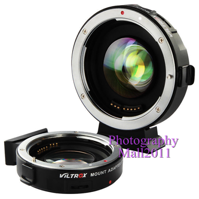 Viltrox EF-M2 II Auto Focus Adapter Speed Booster for Canon EF Lens to MFT M4/3 2