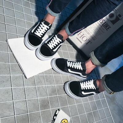 VAN Classic OLD SKOOL Low / High Top sneakers camoscio tela Casual scarpe uomo 5