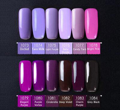 CANNI® UV Nail Gel Polish Soak Off LED Base Matte Tempered Top Coat - FULL RANGE 12