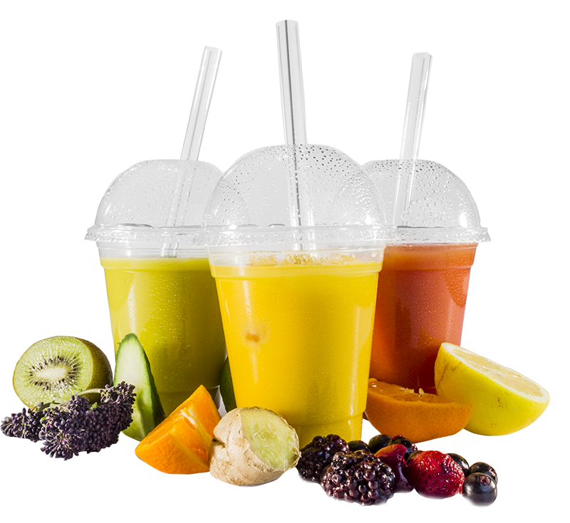 1000  Smoothie Plastic Cups 16 Oz With  Dome Lids 6