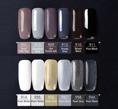 CANNI® UV Nail Gel Polish Soak Off LED Base Matte Tempered Top Coat - FULL RANGE 8