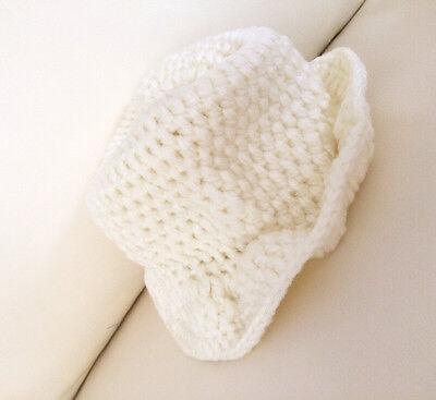 0ae3b21e519ce ... HANDMADE Newborn Baby Boy Crochet Knit Fedora Hat   Ginger Yellow   Photo Prop 6
