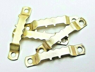 Saw Tooth Hangers 45mm Brassed Picture Canvas Frame Hanging Multi List 2