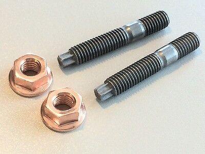 5 Stück Stiftschraube Stehbolzen M8x51  8.8 Kupfermutter M8 SW13 Bund M8x50