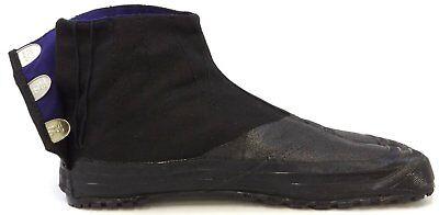 Japanese Rikio JIKA TABI Boots Ninja Shoes High Cut Navy 10 Kohaze GD10B Japan