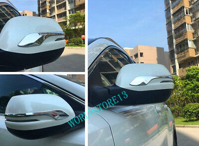 Chrome Rear view Mirror Side Cover Trim Decor Fit for Honda CR-V CRV 2017-2020