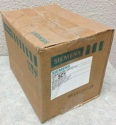 Siemens Sc1 Sc-1 Auxiliary Contact Kit For 30,60,100,200 Amp Type 4&12 Switches