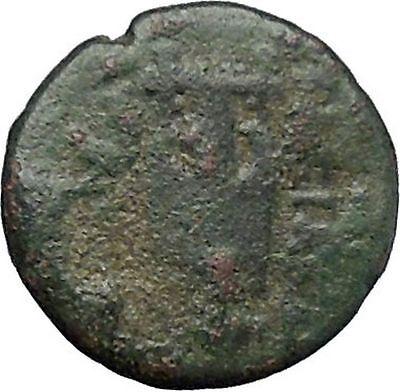 ANTIOCHOS II Theos 261BC Apollo Kithara Lyre Authentic Ancient Greek Coin i49691 2