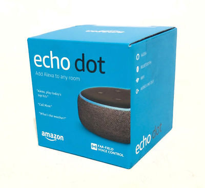 Amazon Echo Dot 3rd Generation w/ Alexa Voice Media Device - Charcoal 2